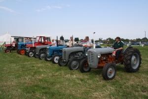 Vintage Tractor Parade